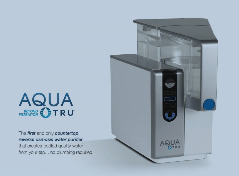 AquaTru Countertop Water riddle Purification process which calm on Exclusive 4 Stage Ultra Reverse Osmosis Technology