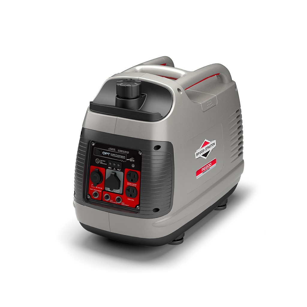 Briggs & Stratton 30651 P2200 PowerSmart Series transportable 2200-Watt electrical converter Generator following Parallel Capability