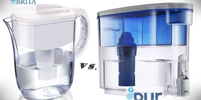 Brita size eighteen Cup Filtered Water Dispenser