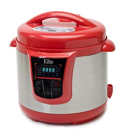This one is Elite Platinum 8 Quart 14-in-1 various Programmable Pressure Cooker