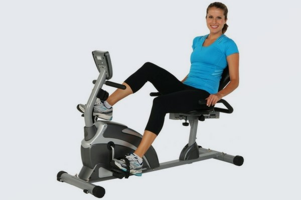 Exerpeutic 4000 Magnetic Recumbent Exercise Bikes subsequent to 12 Workout Programs