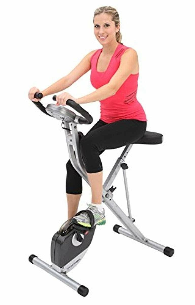 Exerpeutic Folding Magnetic Upright Bike related to Pulse