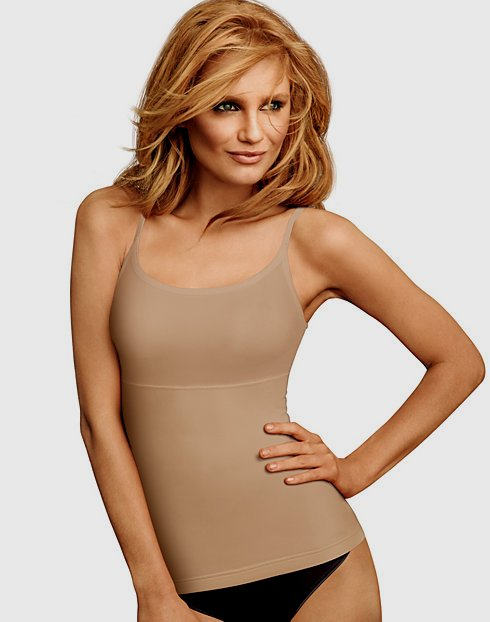 Flexees Maidenform Womens Shapewear Long-Length Tank