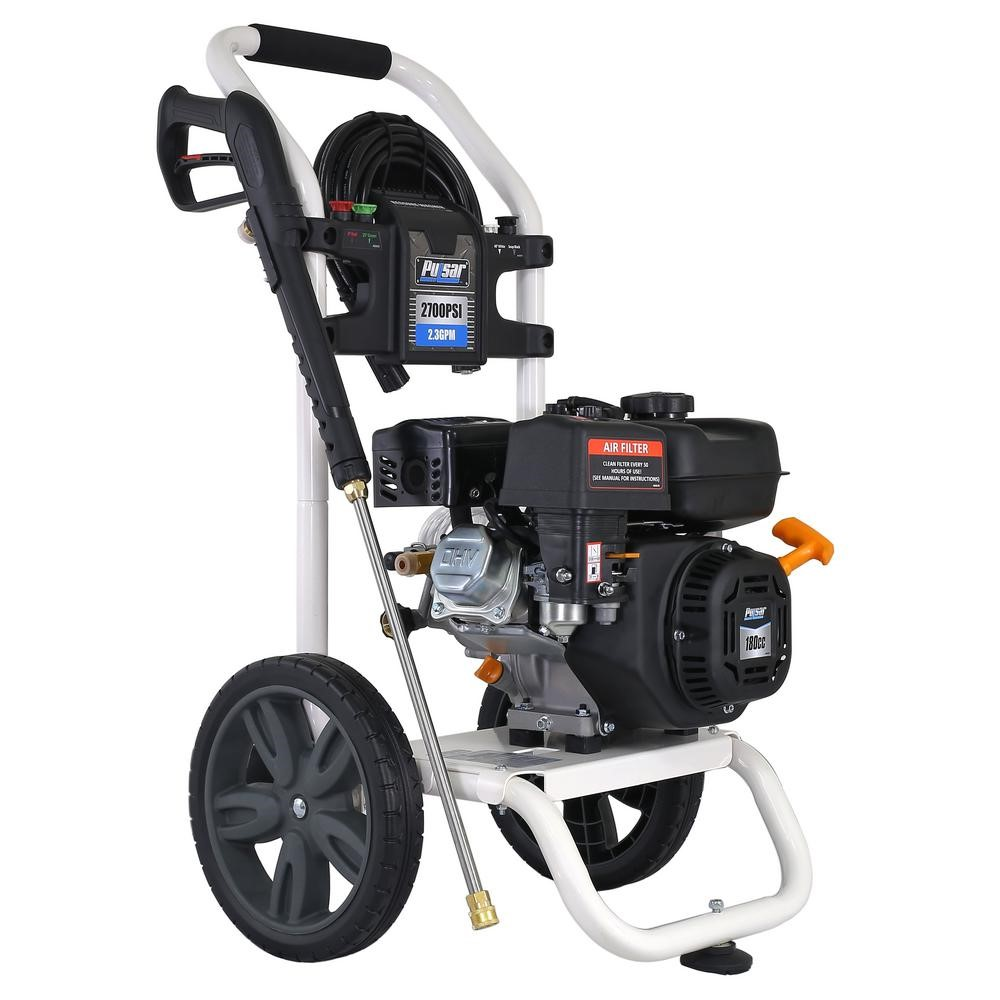 Ford 2,700 PSI Gas-Powered Pressure Washer also Built-in Soap Tank