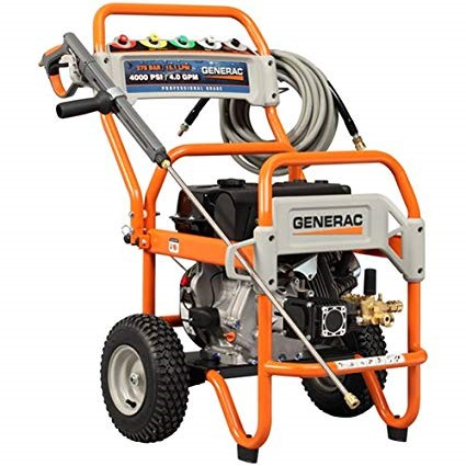 Model no Generac 6565 which has 4,200 PSI 4.0 GPM 420cc OHV Gas Powered Commercial Pressure Washer
