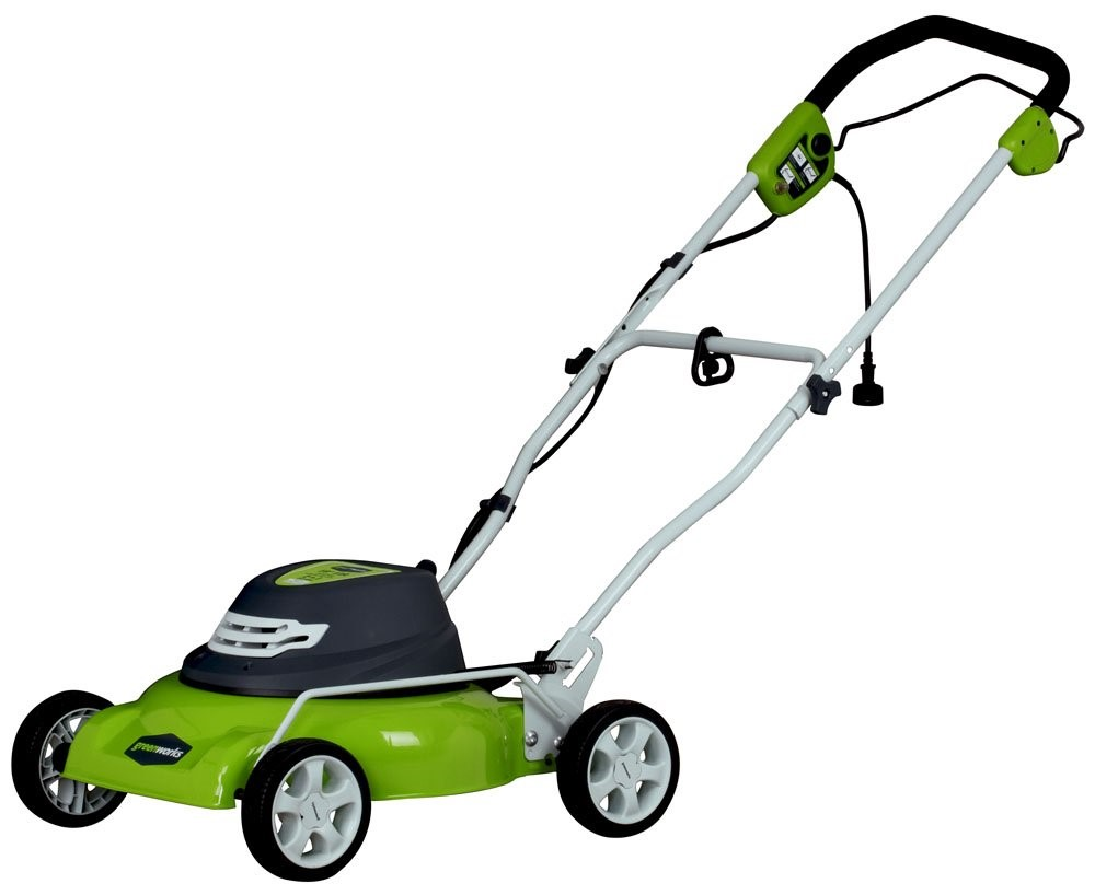 Greenworks Corded Lawn Mower MO13B00