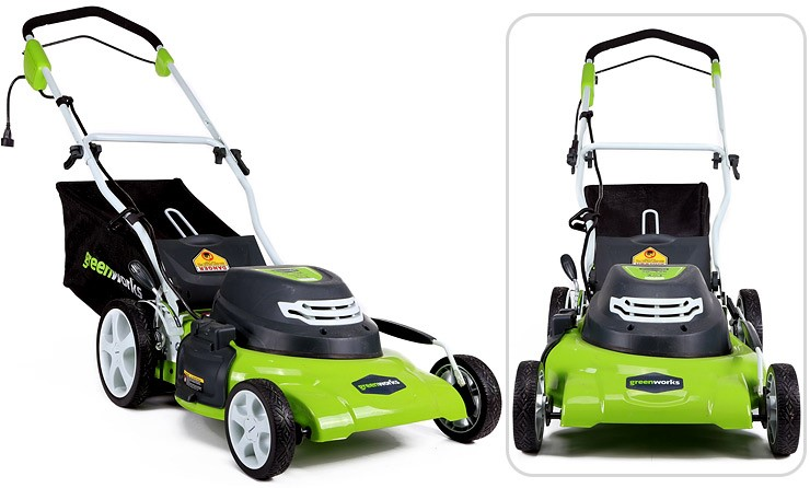 Greenworks Corded Lawn Mower 25022