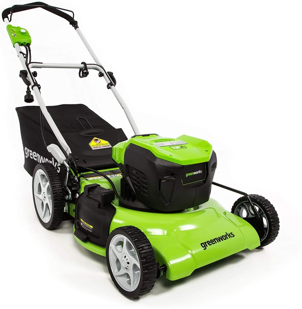 Greenworks 21-Inch 13 Amp Corded Lawn Mower MO13B00