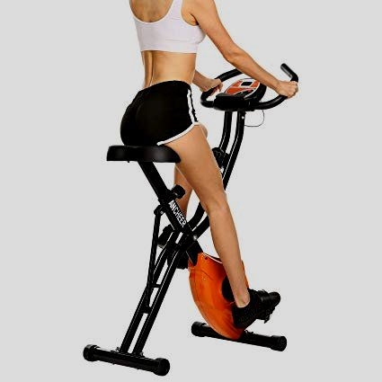Harvil Foldable Magnetic Exercise Bike along along furthermore 10-Level Adjustable Magnetic Resistance and Pulse Rate Sensors