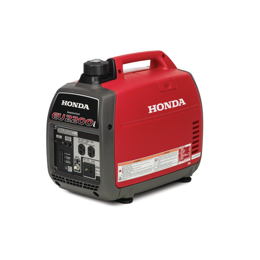 Honda EU2200i 2200-Watt 120-Volt Super Quietest portable inverter Generator.