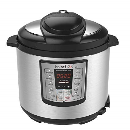 Instant Pot IP-LUX60 v2 6-in-1 Programmable digital Pressure Cooker, 6-Quart 1000-Watt