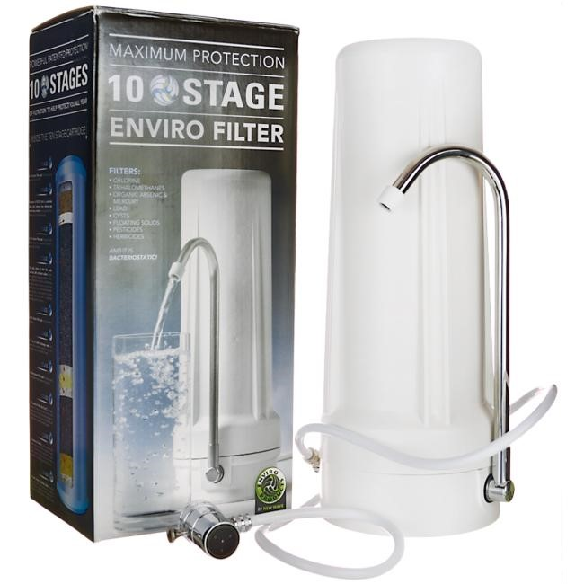 New Wave Enviro 10 Stage best water filter process