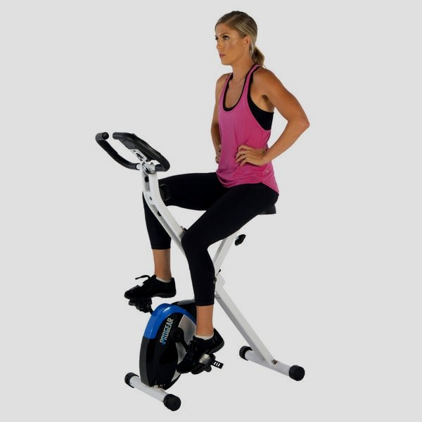 ProGear 225 Foldable Magnetic perpendicular Bike with Heart Pulse