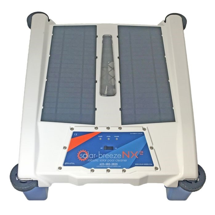 Solar-Breeze NX2 which is like robotic solar pool cleaner New for 2018