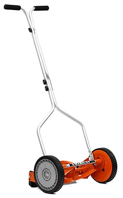 The pleasing States 204-14 Hand Reel 14 Inch Push Lawn Mower
