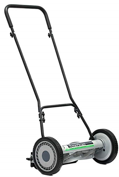 The satisfying States 815-18 18-Inch 5-Blade Push Reel lawn mower