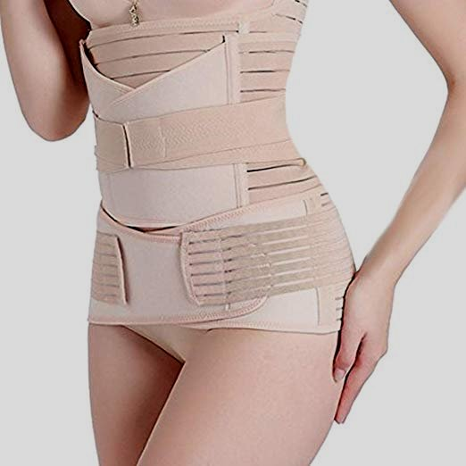 TiRain 3 in 1 Postpartum Support Recovery Belly/Waist/Pelvis Belt Shapewear