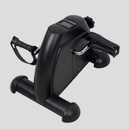The Vive Pedal Exerciser  Stationary Exercise Leg Peddler  Low chop, Portable Mini Cycle Bike for Under Your Office Desk