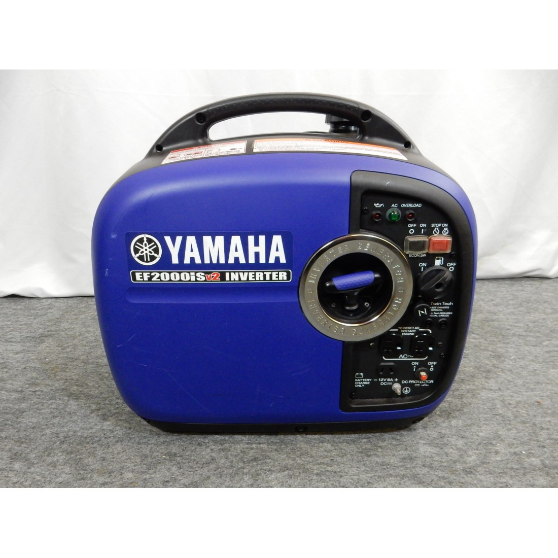 1st model is Yamaha EF2000iSv2 Bike, 1600 Running Watts/2000 starting Watts, Gas powering portable inverter