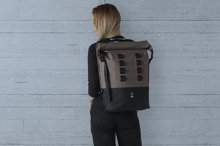 Bombproof bag for bike commuters: Chrome Urban Ex Rolltop 28L Backpack