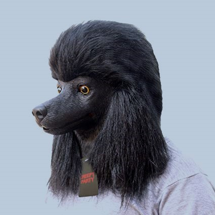 CreepyParty Poodle Mask