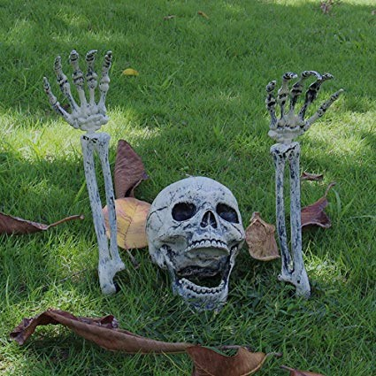 JOYIN Realistic Skeleton Lawn Stakes Halloween Yard Decorations