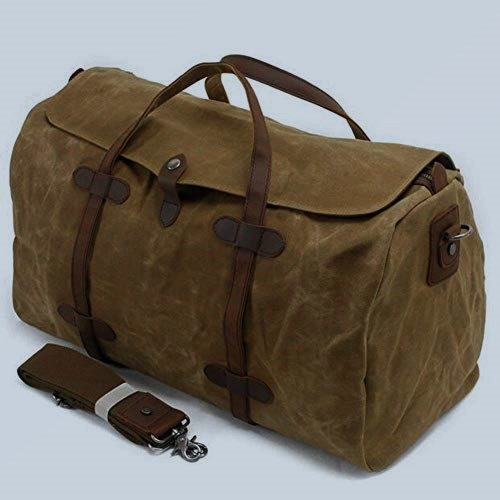 Lands' End Waxed Canvas Duffle Bag2