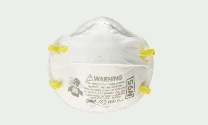 3M Safety 142-8210PLUS N95