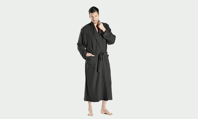 CASHMERE BOUTIQUE FULL-LENGTH ROBE