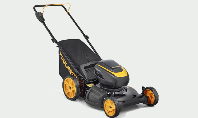 Poulan Pro PRLM21i, 58-Volt Cordless 21 in. 3-in-1 Push Lawn Mower
