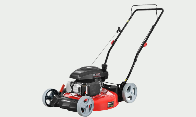 PowerSmart DB2321C Lawn Mower, Red, And Black