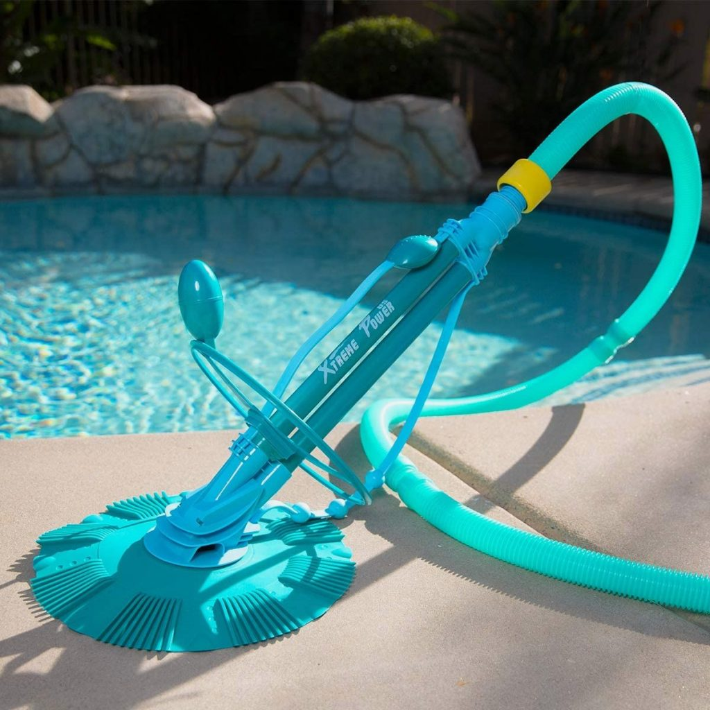 XtremepowerUS Automatic Suction Vacuum Climb Wall Pool Cleaner